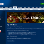 BetFred High Roller Bonus