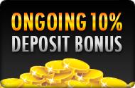 Gday Casino Ongoing 10% Deposit Match