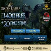 20 Free Spins on Jurassic Park Slo