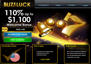 Buzzluck Casino Bonus Code