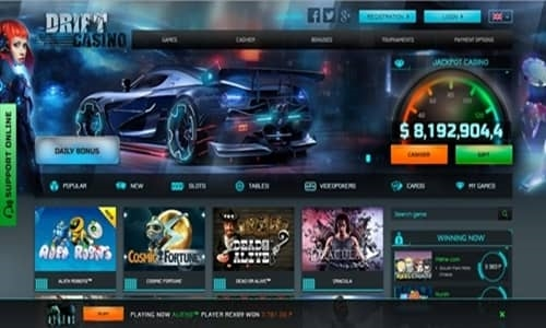 Drift on in casino casino windsor slots