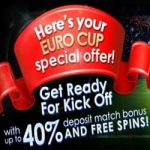 Euro Cup 2016 Multiple Deposit Match Bonus
