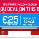 Banker's Welcome Bonus