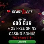 ReadytoBet Casino Bonus