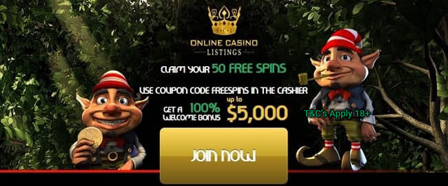 Drake Casino Free Spins Bonus On Greedy Goblins Slots 50 Free Spins