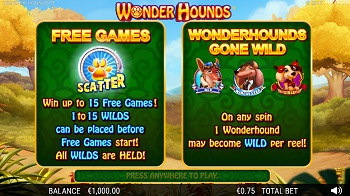 Wonder Hounds Screenshot 1
