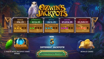 Ozwin's Jackpots Screenshot 1